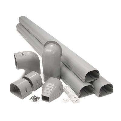 Fortress 3.5 in. LDK92G 12 ft. Gray Line Set Cover Kit