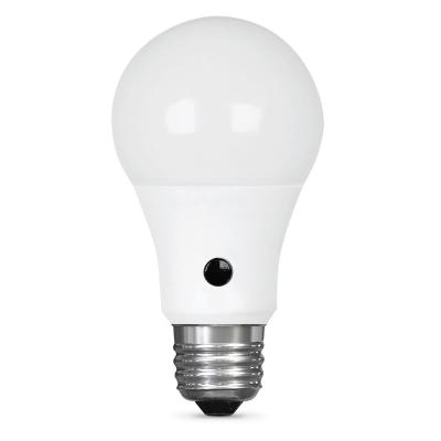 60W Equivalent Soft White (2700K) A19 IntelliBulb Dusk to Dawn CEC Title 20 Compliant 90+ CRI LED Light Bulb