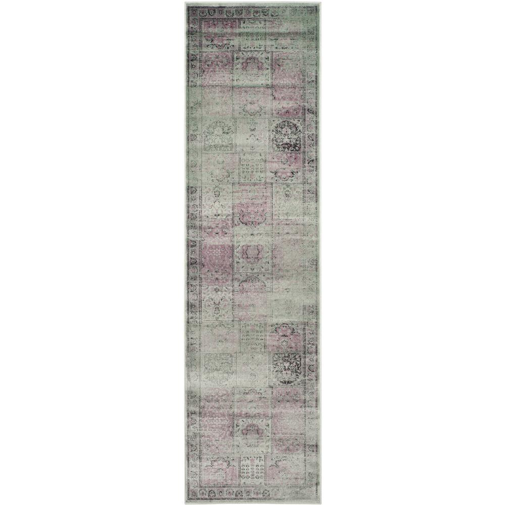Vintage Amethyst 2 ft. x 10 ft. Runner Rug