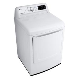 LG Electronics 7 3 cu ft  Ultra Large High Efficiency Electric Dryer in  White