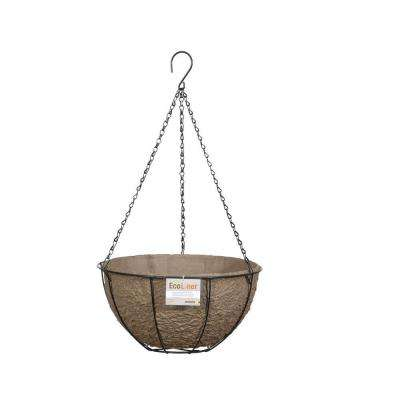 12 in. Hanging Basket with Biodegradable EcoLiner