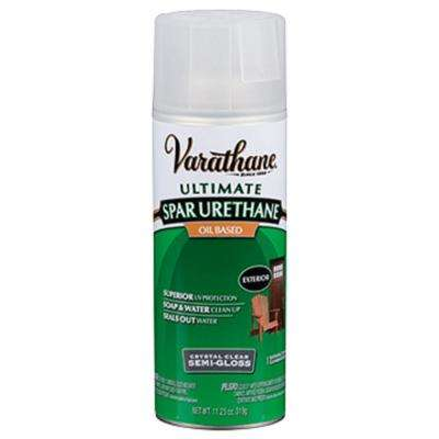 11 oz. Clear Semi-Gloss Oil-Based Spar Urethane Spray