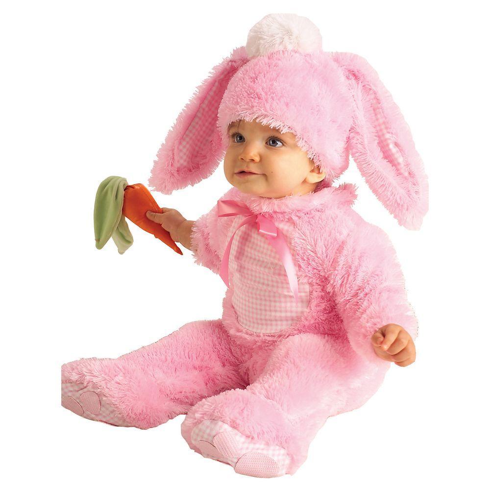 rubie's costumes pink bunny newborn/infant costume-r885352_nb06