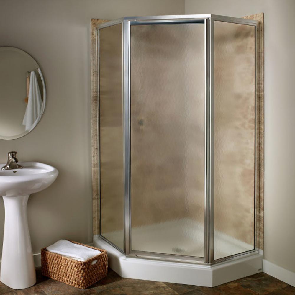 American Standard Prestige 24.25 in. x 68.5 in. Neo-Angle Shower ...