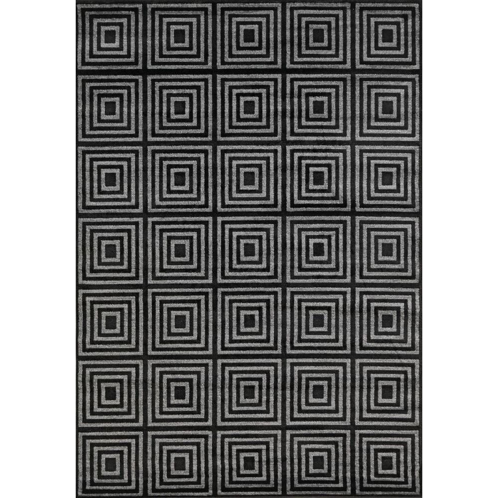 Lumina Keys Black 5 ft. x 7 ft. Area Rug