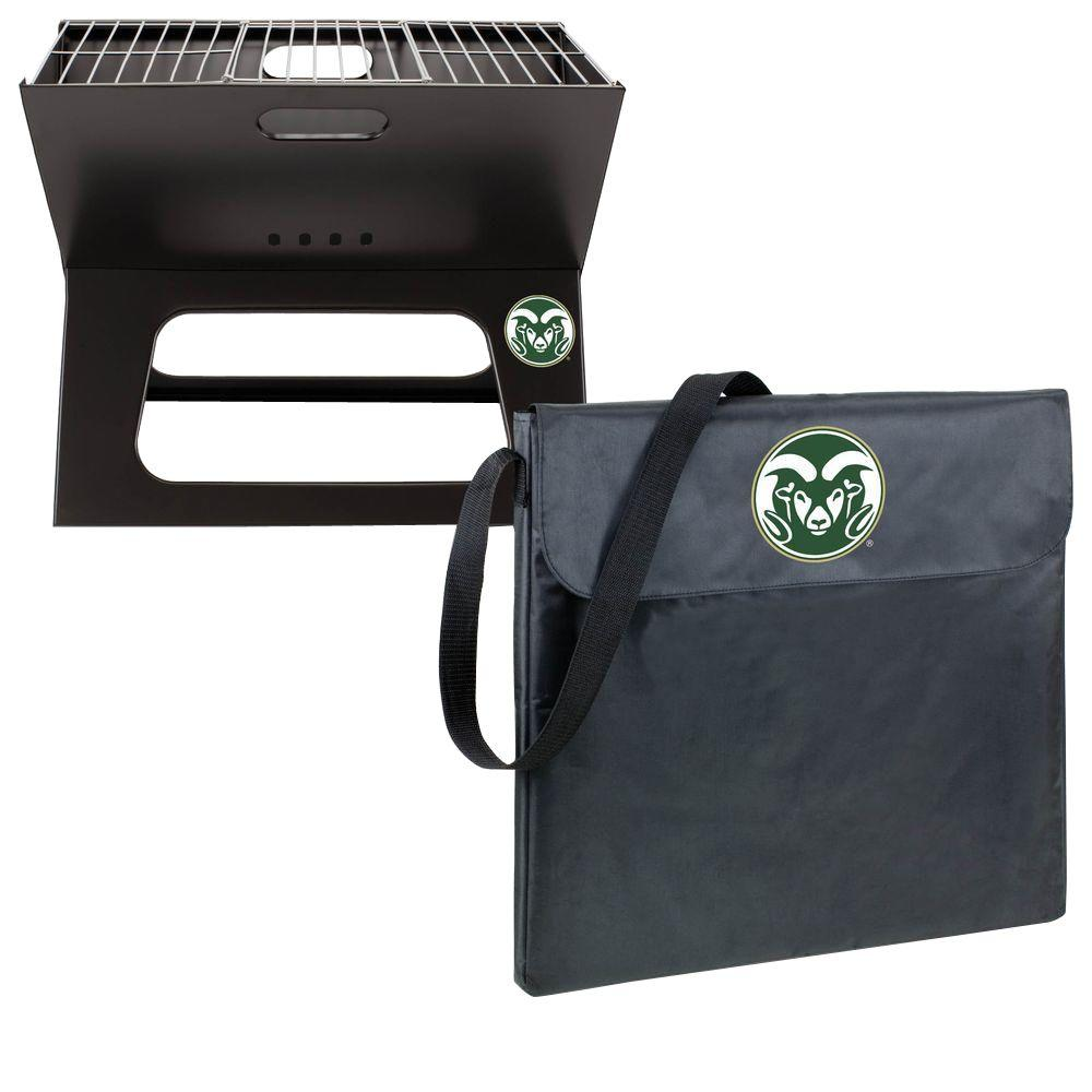 X-Grill Colorado State Folding Portable Charcoal Grill