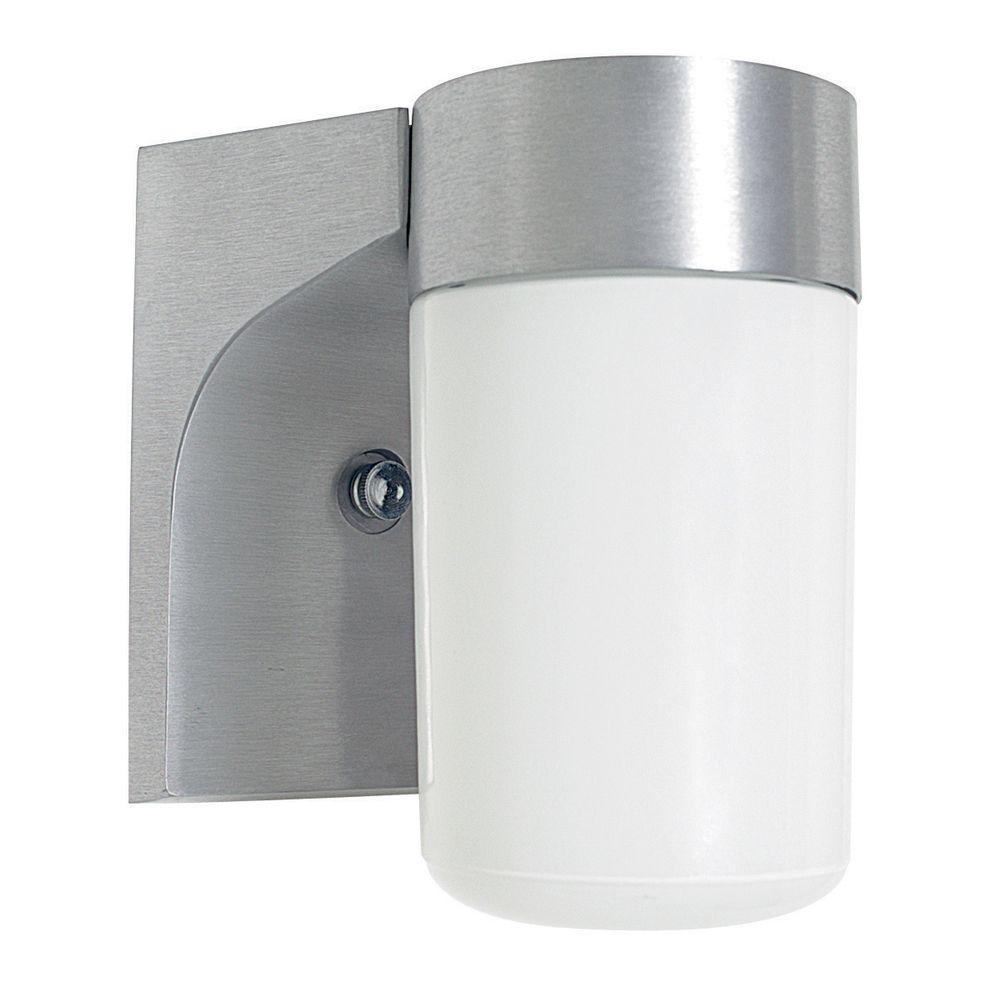 Luminance 1-Light Satin Aluminum Outdoor Lantern