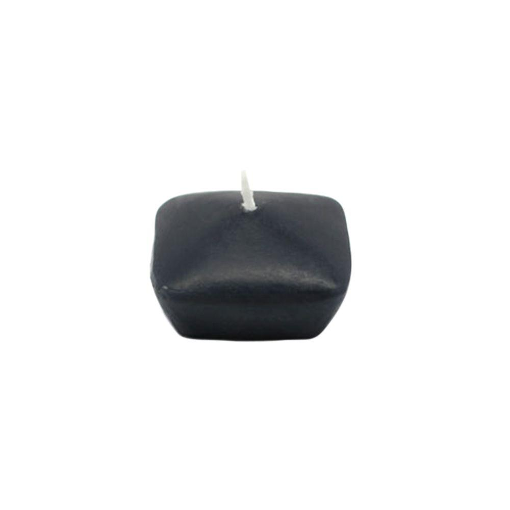 1.75 in. Black Square Floating Candles (12-Box)