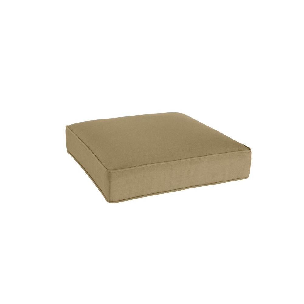 Greystone Replacement Outdoor Ottoman Cushion in Meadow