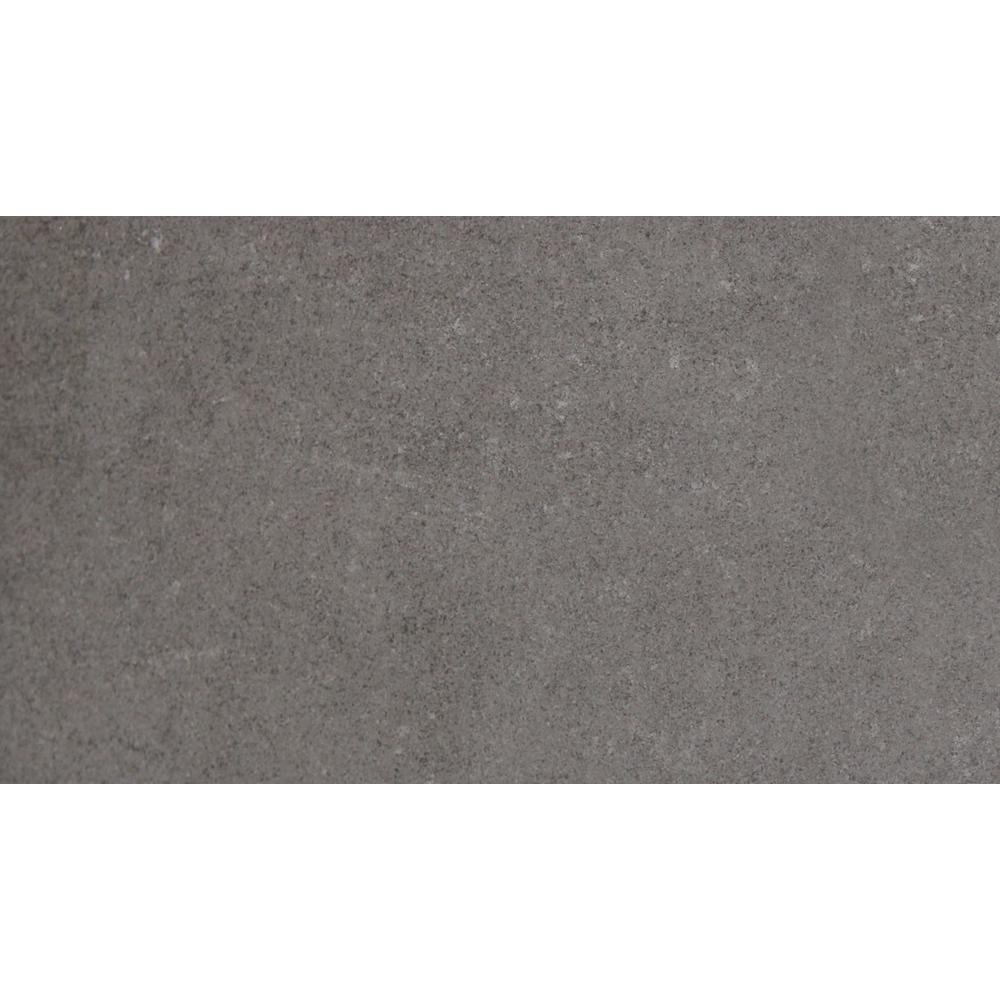 Beton Graphite 12 in. x 24 in. Glazed Porcelain Floor and