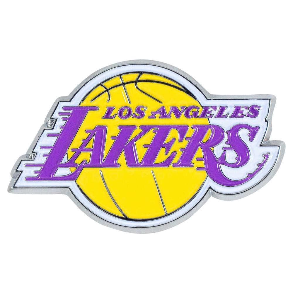 FANMATS 2.3 in. x 3.7 in. NBA Los Angeles Lakers Emblem ...