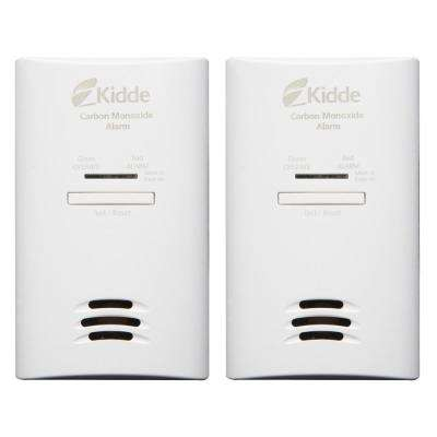 Plug-In Basic Carbon Monoxide Detector with Battery Back Up (2-Pack)