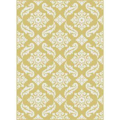 Yellow 5 X 7 Area Rugs Rugs The Home Depot