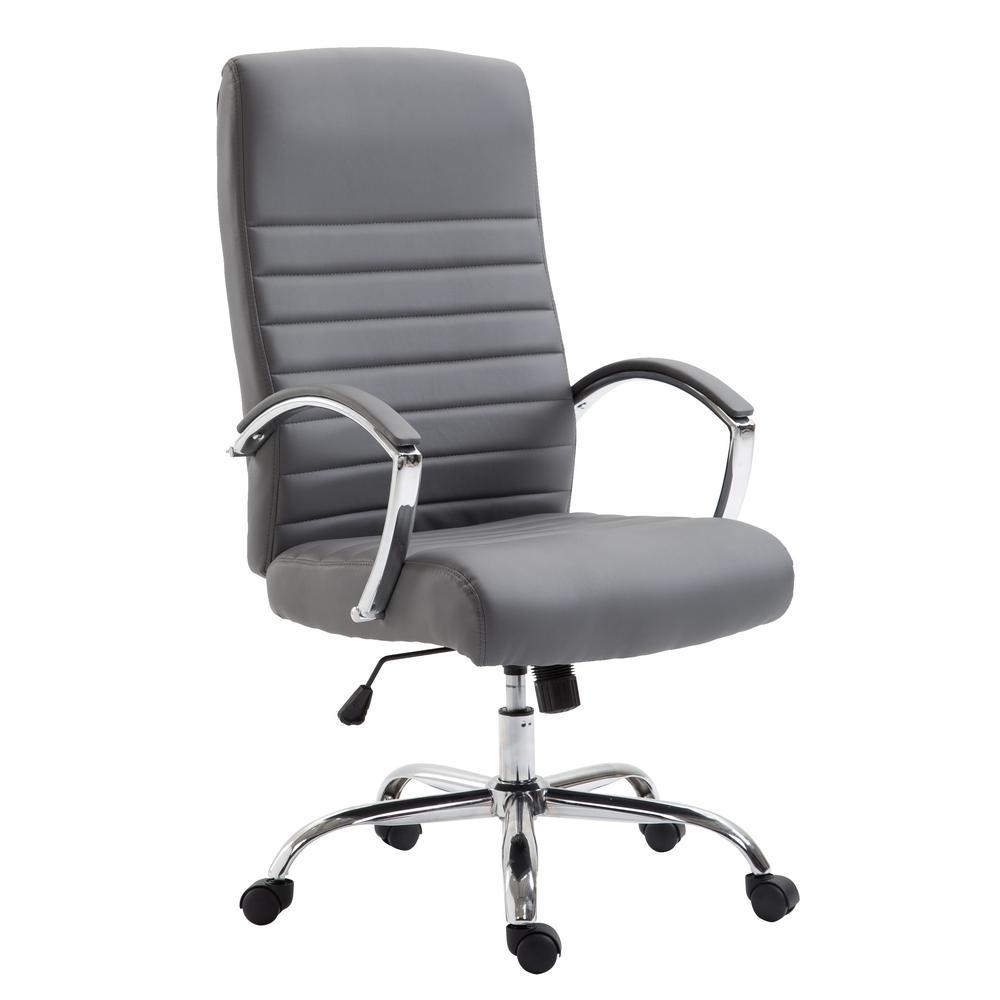 Francesca Grey Office Chair