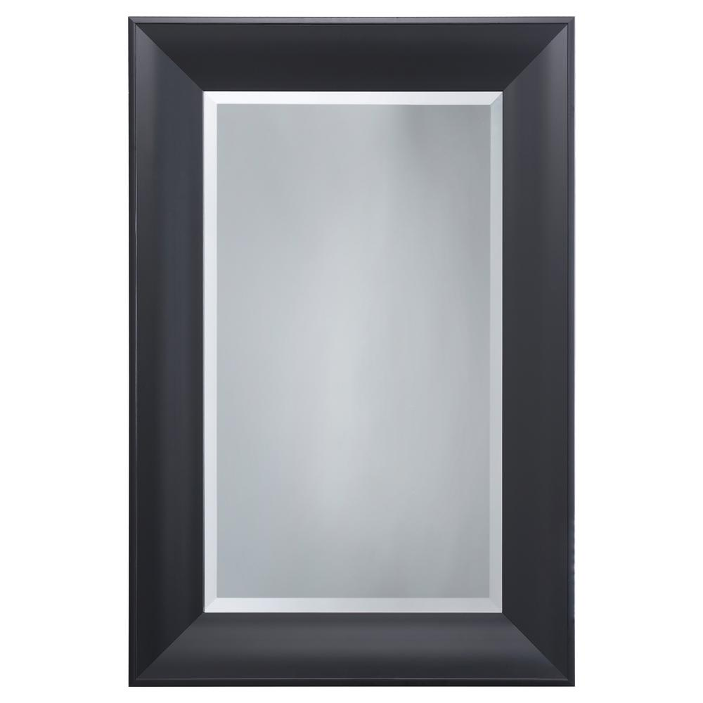 Yosemite Home Decor Black Mirror Frame-MINT027 - The Home Depot