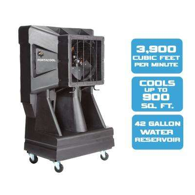 16 in. Vertical Tank 3900 CFM 3-Speed Portable Evaporative Cooler for 900 sq. ft.