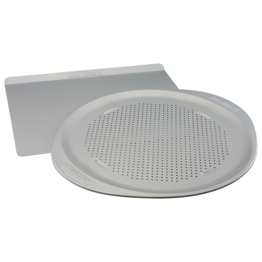 Farberware 14 in. x16 in. Cookie Pan and 15.5 in. Pizza Pan Combo Set