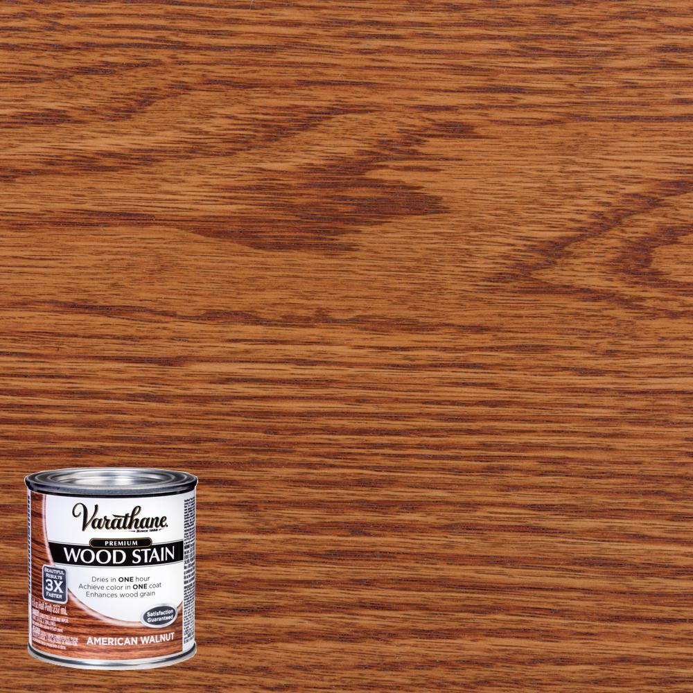 8 oz. American Walnut Premium Fast Dry Interior Wood Stain