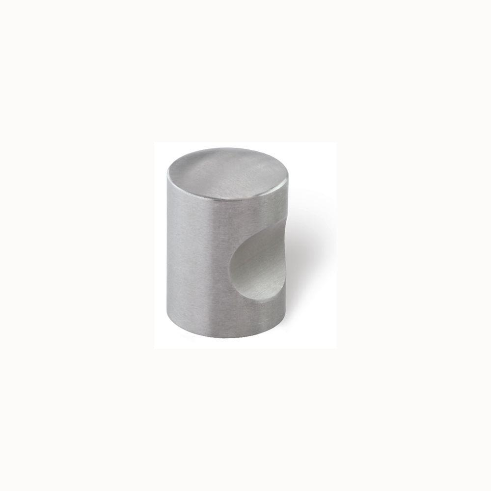 Siro Designs 3/4 in. Fine Brushed Stainless Steel Cabinet Knob