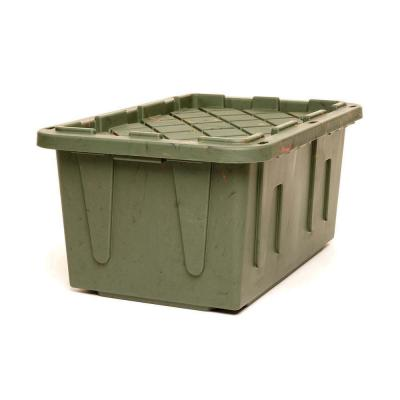 27 Gal. Heavy Duty Storage Tote in Camouflage (2-Pack)