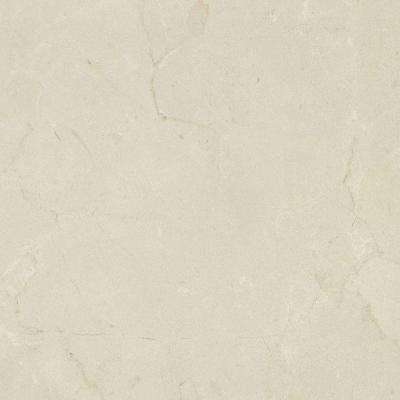 5 in. x 7 in. Laminate Countertop Sample in Marfil Cream with Premiumfx Scovato Finish