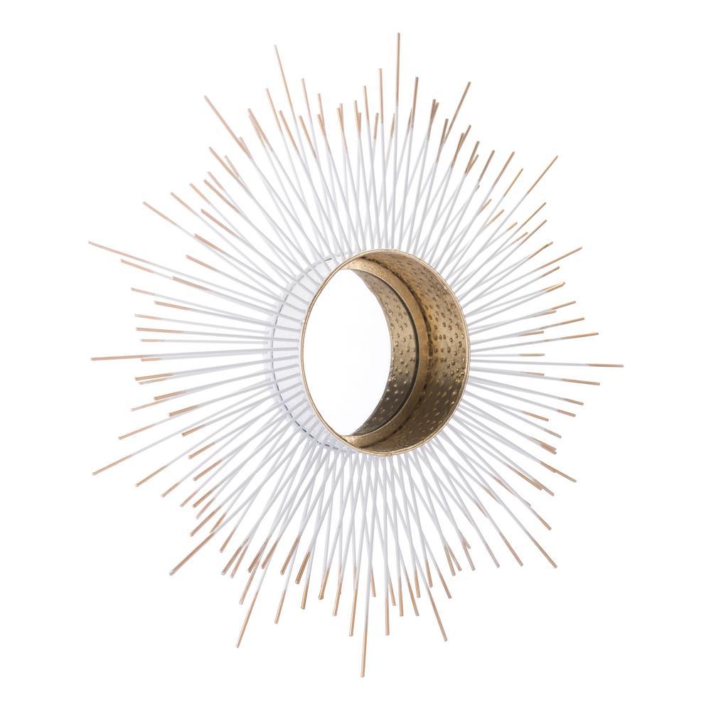 Splan Gold Decorative Mirror