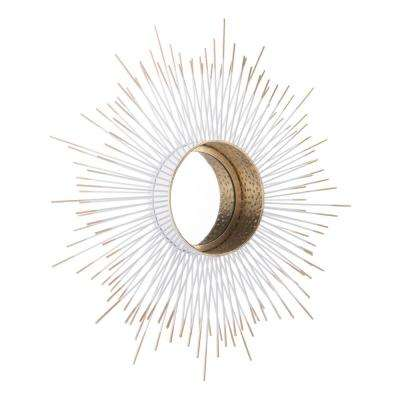 Splan Gold Decorative Mirror