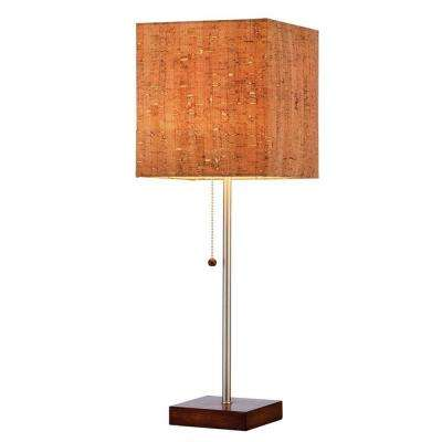 Sedona 21.5 in. H Walnut Table Lamp