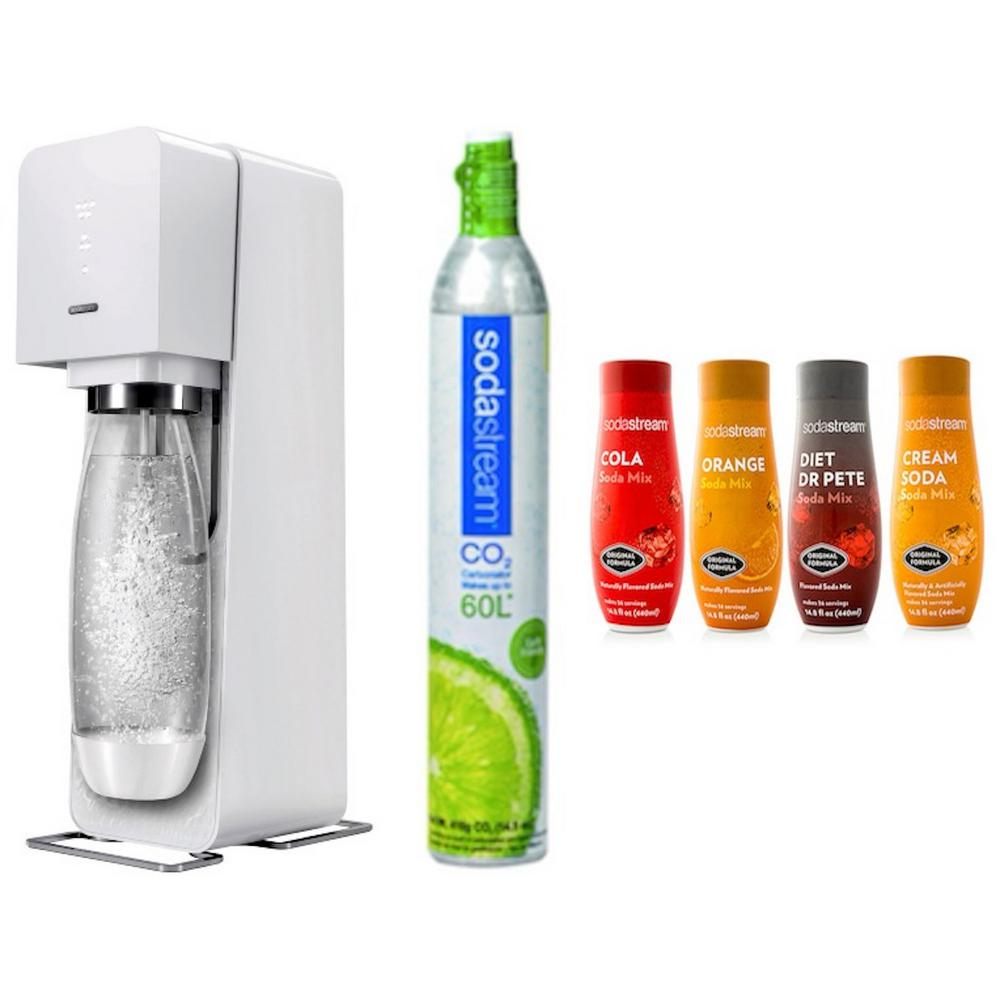 Source Home Maker Starter Kit with Variety Pack Soda Flavors in