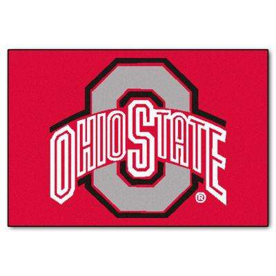 Ohio State University 19 in. x 30 in. Accent Rug