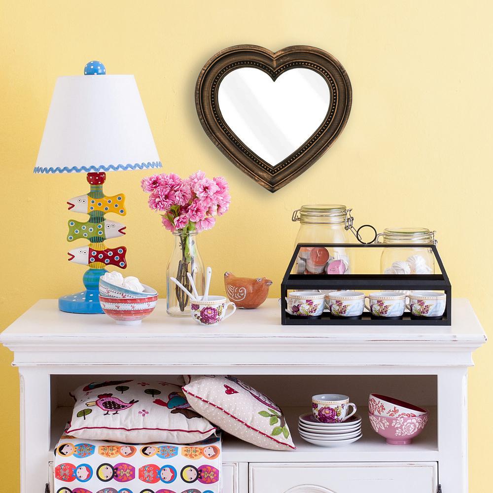 Bronze/copper metallic - Plastic - Wall Mirrors - Mirrors - The Home ...