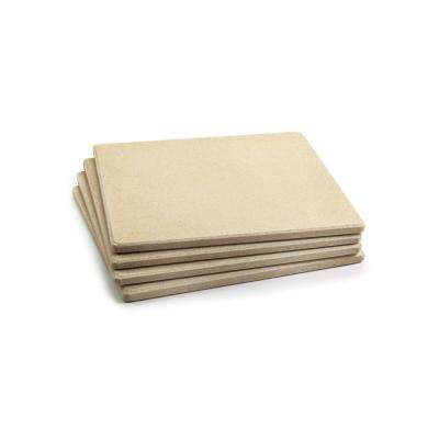 Pizza Grill Stone Tiles (Set of 4)