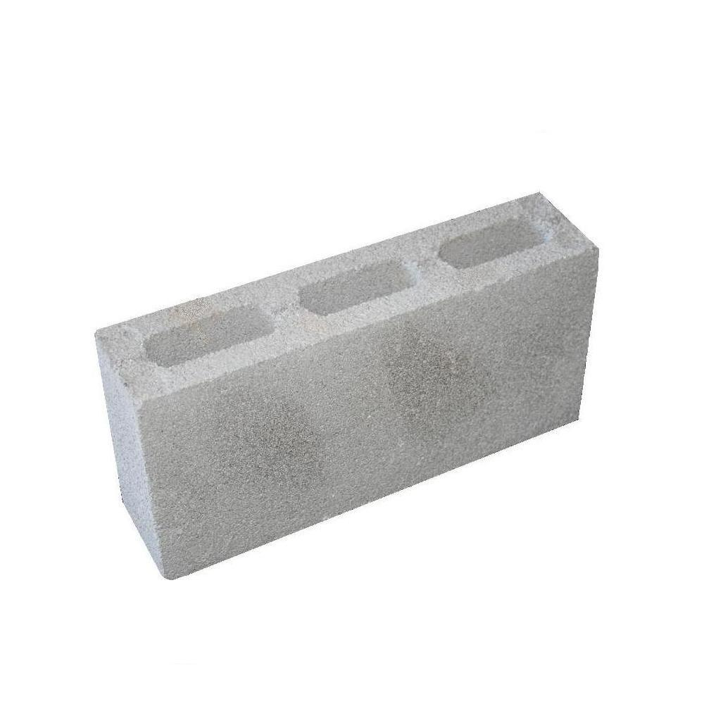 8 in. x 4 in. x 16 in. Concrete Block
