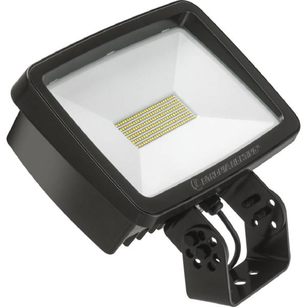 Contractor Select TFX2 94-Watt Dark Bronze Yoke Mount 5000K Outdoor Integrated LED Flood Light