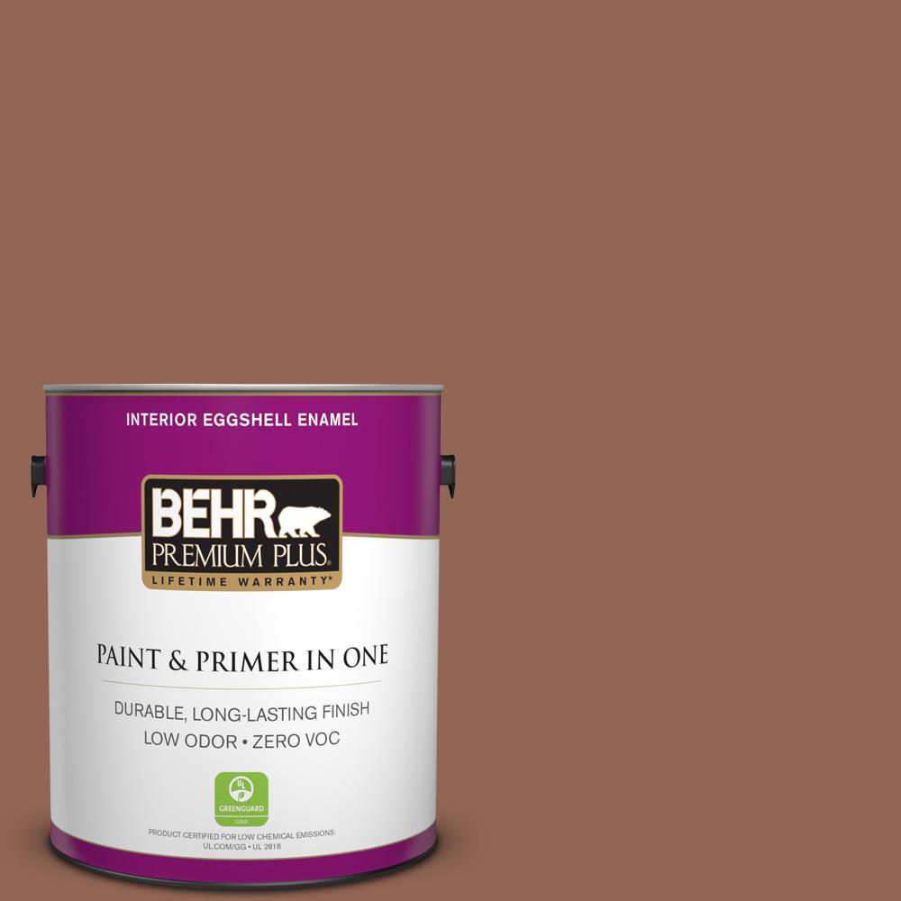 BEHR Premium Plus 1-gal. #S190-6 Rio Rust Eggshell Enamel Interior Paint