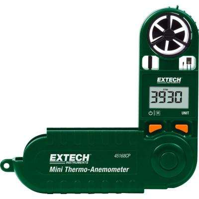 Mini Thermo-Anemometer with Built-In Compass