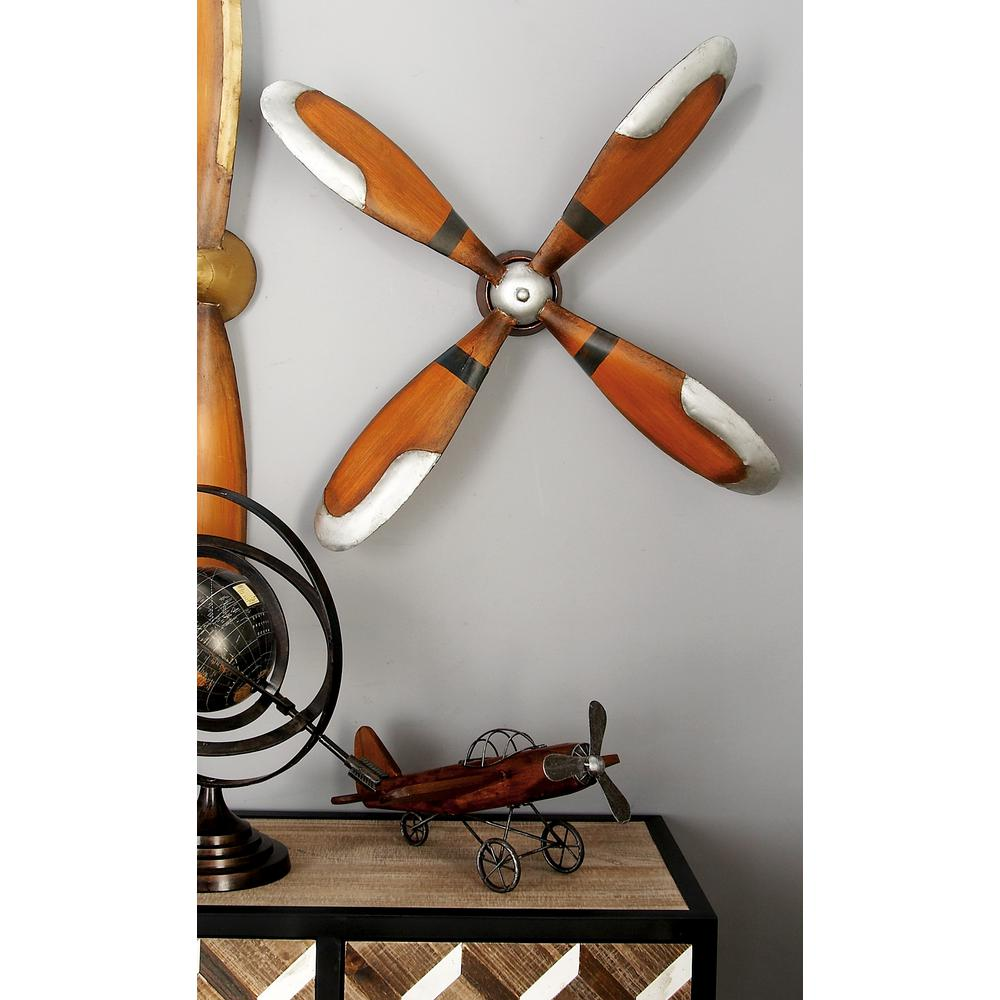 4 blade iron caramel brown and silver plane propeller wall decor null 4 blade iron caramel brown and silver plane propeller wall decor amipublicfo Choice Image