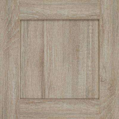 Reading 14 9/16 x 14 1/2 in. Cabinet Door Sample in Drift