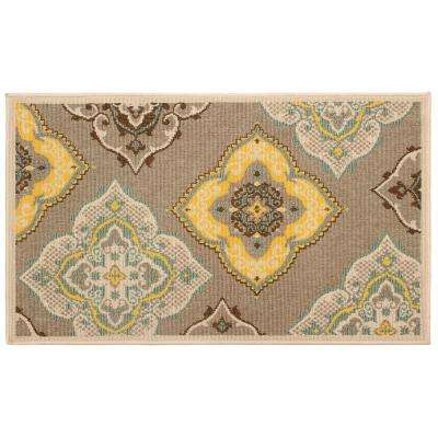 Allie Taupe 11 ft. x 8 ft. Indoor/Outdoor Area Rug