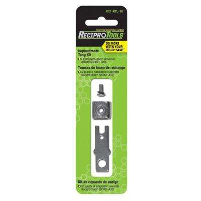 Replacement Tang Repair Kit for Universal Adapter for use with Reciprocating Saws