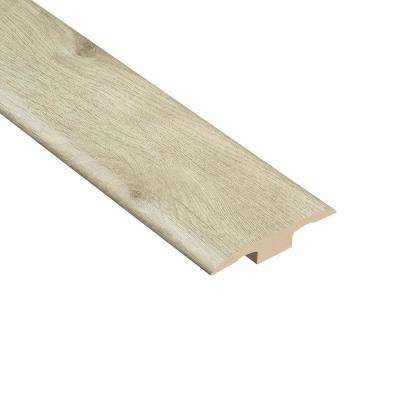 Oakdale 1/4 in. Thick x 1-7/16 in. Wide x 94 in. Length Vinyl T-Molding