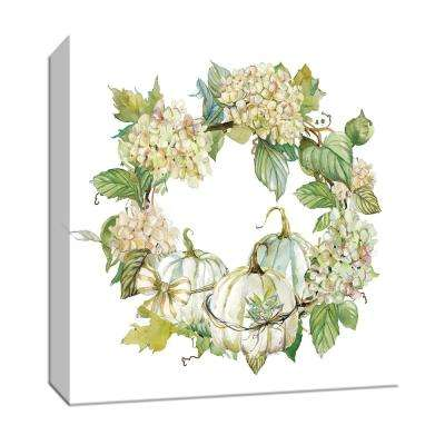 15 in. x 15 in. ''End of Summer Wreath'' By Canvas Wall Art