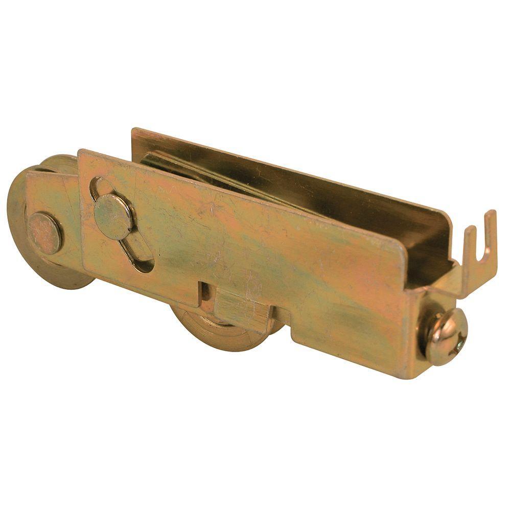 Prime-Line 1 in. Steel Ball Bearing Sliding Door Tandem Roller Assembly