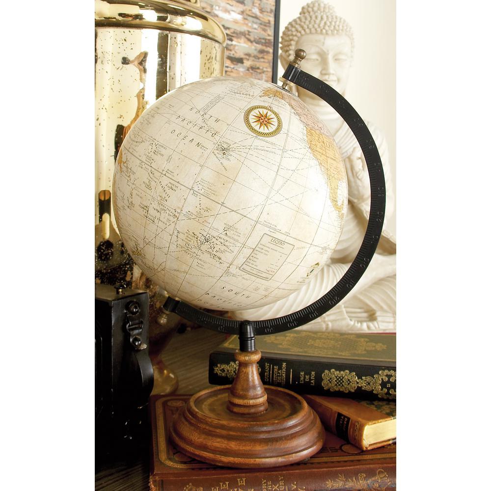 Nautical Decorative Sepia Globe