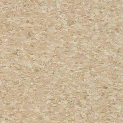 Take Home Sample - Civic Square VCT Stone Tan Commercial Vinyl Tiles - 6 in. x 6 in.