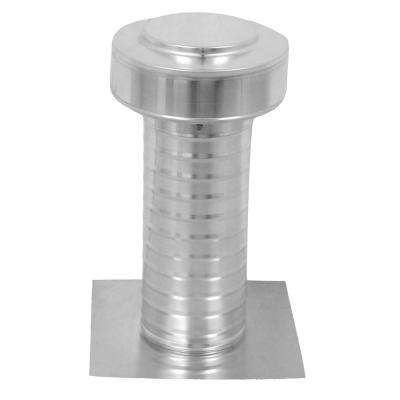 5 in. Dia Keepa Vent an Aluminum Roof Vent for Flat Roofs