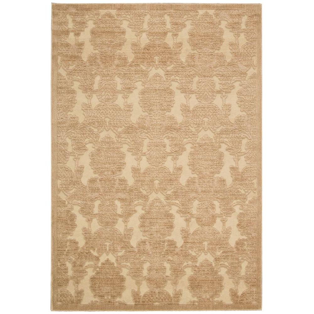 Graphic Illusions Light Gold 5 ft. 3 in. x 7 ft.