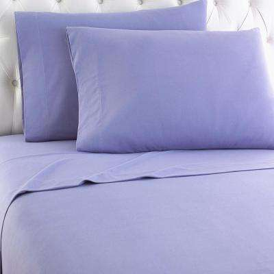California King 4-Piece Amethyst Sheet Set