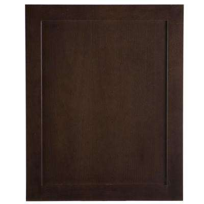 24x30x1.13 in. Decorative Base End Panel in Dusk
