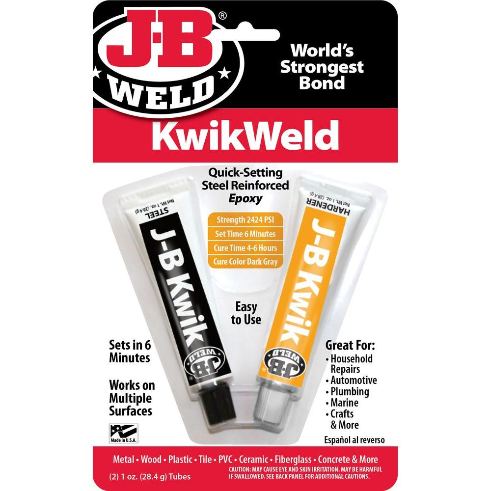Two 1 oz. Twin Tube Kwikweld